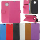 Fashion Flip Leather PU Wallet Case Card Slot Stand Holder For ZTE Mobile Phones