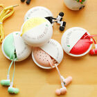Cute Candy Portable 3.5mm In-ear Earphone with Mic for Mobile Phone MP3 Sweet