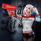 Suicide Squad Harley Quinn Girls Womens Fancy Dress Costume Supreme Money Gun
