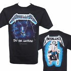 METALLICA - RIDE THE LIGHTNING - Official Licensed T-Shirt - New 2XL ONLY