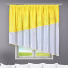 10 Colours Available * Hand Made *Two colours * Voile Net Curtains High Quality