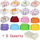 Kyпить 5 PCS+5 INSERTS Cloth Diapers lot Nappies Adjustable Reusable For Baby Newborn на еВаy.соm
