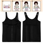 Women Men Slimming Belly Belt Corset Neoprene Vest Sauna Sweat Body Sport Shaper