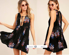 FREE PEOPLE  XS  Lovely Day Printed Dress New Tags tg