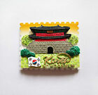 Korea, World Travel Tourist Souvenir Fridge Magnet 3D Resin Hand Made Craft