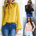 Fashion Women's Ladies Casual Long Sleeve T Shirt Summer Loose Tops Blouse