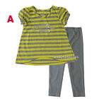 Calvin Klein Jeans Baby Girls Outfit Shirt legging Size 12 18 24 months 2T 3T 4T