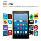 Amazon Kindle Fire Hd 8 Tablet 16 Gb 7th Generation 2017 Latest Free Fast Ship!