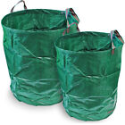 Heavy Duty Garden Waste Bag Reusable Yard Lawn Refuse Sack Leaves Grass Trash