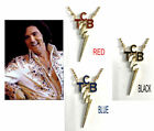 ELVIS LARGE TCB NECKLACE ENAMELED 40TH ANNIVERSARY NECKLACE