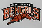 NFL Cincinnati Bengals Vinyl Bumper Sticker Decal for Cornhole Wall Car $4.2 USD on eBay