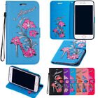 Luxury Magnetic Leather Flip Stand Wallet Card Slot Case Cover For Various Phone