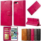 New Luxury Mangetic PU Leather Flip Wallet Card Slot Case Cover For Cell Phones
