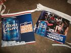 Bud Light streamer flags signs 25 beer bar man cave football Down South Orange
