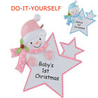 Baby's 1st Christmas Personalized Ornament Baby Girl/Boy Star Christmas Gift