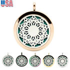 Jewelry Sun Flower Aromatherapy Perfume Essential Oil Diffuser Necklace Locket