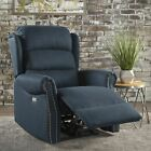 Desiree Tufted Fabric Power Recliner