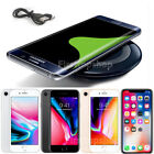 iPhone 8/ 8Plus/X &Samsung S8 S7 Note8 Original Qi Wireless Charging Pad Charger