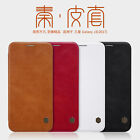 Nillkin For Galaxy J32017 Slim Genuine Qin Series case cover Faux leather SDG