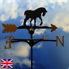 High Quality British Made Heavy Horse Weathervanes.(2)