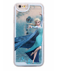Iphone 5, SE, 6,  6 Plus, 7, 7 Plus Hardcase, FROZEN, Glitter, fließend, Disney