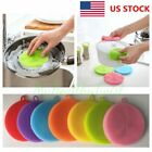 Внешний вид - Multi-function Silicone Dish Washing Cleaning Brush Sponge Cleaner Tools US Ship