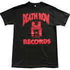 DEATH ROW RECORDS Red Logo Men's T-Shirt Black image