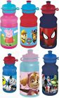 Childrens Kids Character Sports Water Bottle School Lunch|Peppa Pig Paw Patrol