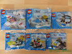 Lego City Polybag Packs MultiListing BNIB LEGO Sets 30010 - 30015 MiniFigures