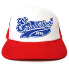 Established 1976 Hat - Funny Retro Trucker Cap - Birthday / Christmas Gift Idea