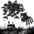 20/50/100 Pcs Plastic Halloween Spider Trick Toy Party Haunted House Prop Decor