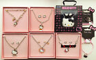 Hello Kitty Boxed Jewellery Sets RRP £12.99 at Argos Necklace Bracelet Rings