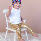 Baby Newborn Kids Girls Boys Leggings Gilding Skinny Slim Pants Trousers Newest