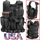 Watchers: 2293Military Vest Tactical Plate Carrier Holster Police Molle Assault Combat GearChest Rigs & Tactical Vests - 177891