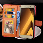 Thin Luxury Flip Cover Wallet Card Leather Case For SAMSUNG Galaxy A3 A5 A7 2017