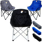HEAVY DUTY LUXURY FOLDING CAMPING DIRECTORS CHAIR FESTIVAL FISHING LIGHTWEIGHT