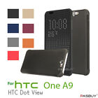 New Fashion Ultra Slim Dot View Flip Case Cover For Htc One A9