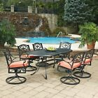 Home Styles Biscayne Ball-and-socket joint Patio Dining Set - Seats 6
