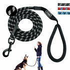 Nylon Rope Reflective Braided Dog Leash Strong Long Leads No Tangle for Walking