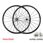 Straight Pull Wheel 24mm Depth Tubular Road Bike Bicycle Riding Carbon Wheels