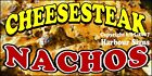 (CHOOSE YOUR SIZE) CheeseSteak Nachos DECAL Concession Food Truck Vinyl Sticker