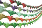 NEW SUPERIOR QUALITY Crepe Paper Hand Fringed Ceiling Christmas Party Streamer