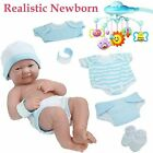 Baby Boy Doll Silicone Vinyl Reborn Toddler Dolls Real Handmade Lifelike Newborn