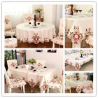 European Style Embroidery Tablecloth Home Dinner Table/TV Furniture Europe Cover