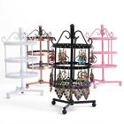 72 Holes Earrings Jewelry Display Rack Metal Stand Holder Storage Showcase New