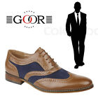 Goor 'Milan' Kids Oxford Brogues Boys Girls Formal Back To School Shoes