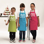 PERSONALISED KIDS APRON CUSTOM GIFT PRESENT FOR CHILDREN GIRLS COOKING CHEF COOK