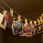 LED Photo Clip Lights 3xAA Battery Christmas Xmas Party Home Hanging Card Decor