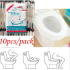 10/50pcs Pack Disposable Toilet Seat Covers Paper Travel Biodegradable Sanitary
