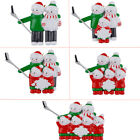 MAXORA Personalized Christmas Ornament Selfie Snowman Family of 2 3 4 5 6